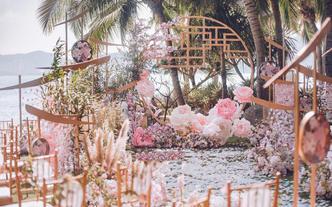 户外婚礼 花艺 设计精致 百万新娘推荐