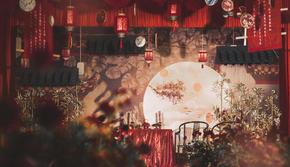 红色中式婚礼  古典之美