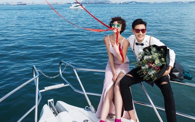 花满集婚纱旅拍---海洋