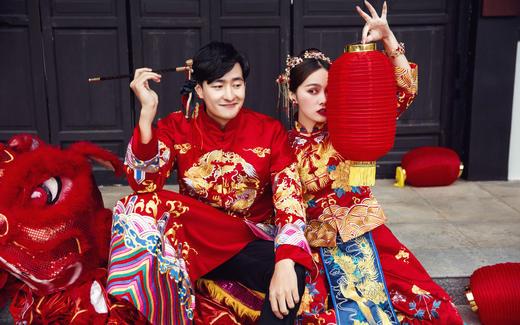 中式风格——【巴黎世家婚纱摄影】