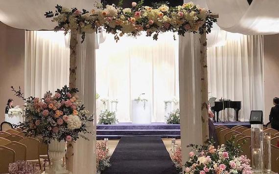 【制定】小众韩式鲜花婚礼