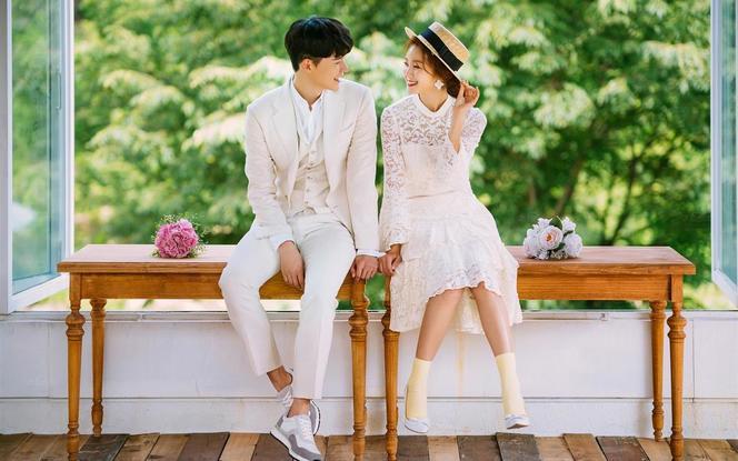 【限时特惠】时尚小清新街拍婚纱照