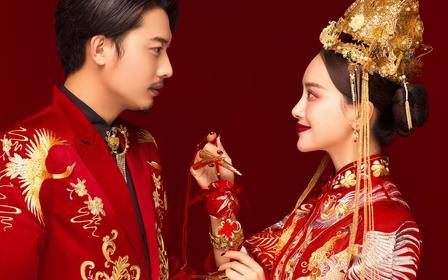 【大美中国】GOLDEN风·国潮新宠婚纱照