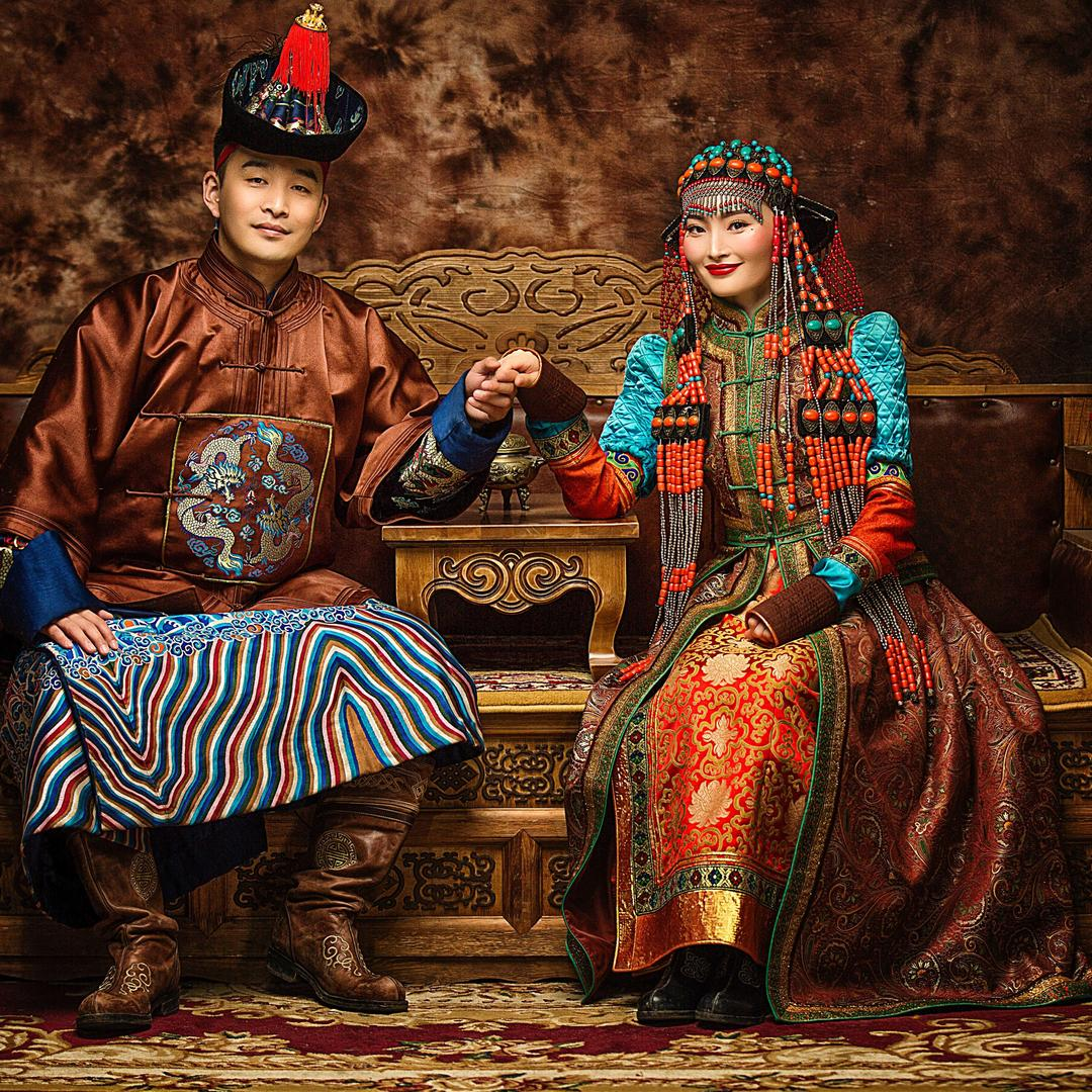 蒙古贵族复古潮流婚纱旅拍