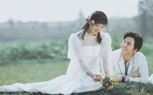 清新外景|私人订制『水晶之恋婚纱摄影』