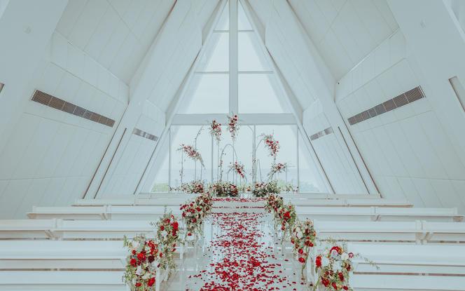 海岛定制婚礼 · 礼堂 · 草坪 · 沙滩任选