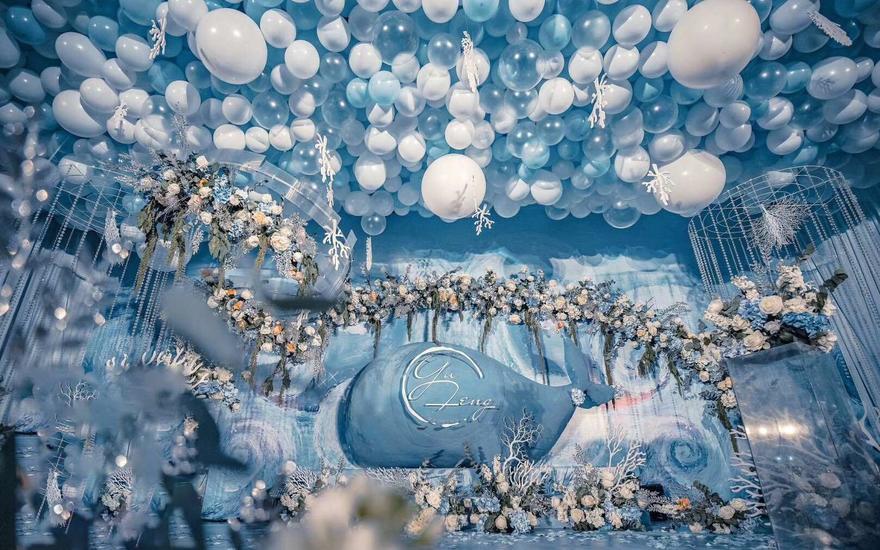 天喜婚礼企划-海洋气球系列