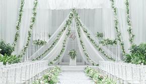 〖晶莹婚礼〗小预算清新  白绿色系 高性价比婚礼