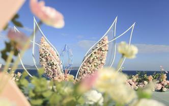 10人以内海边水上平台婚礼套餐