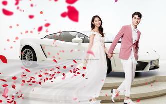 立减1000!韩式创意潮拍婚纱套系