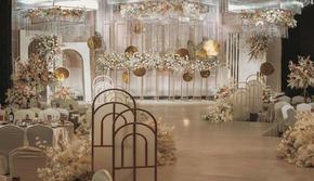 【七夕特推】纯净香槟白系浪漫婚礼《暖暖》