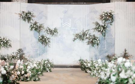 喜上婚礼 | 蓝色清新浪漫婚礼之选,含婚礼四大