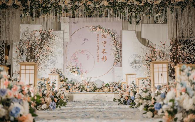 【盛夏宠粉节】 20流行新中式婚礼+赠送首席四大