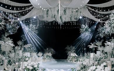 《最初》白绿色系小清新主题婚礼