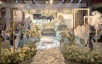 呼和浩特市中高端韩式网红婚礼暖色调室内婚礼