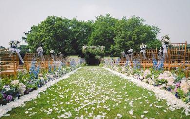 户外草坪婚礼《蝴蝶花园》