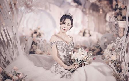 【米迪婚礼】—繁花锦簇浪漫甜美韩式婚礼