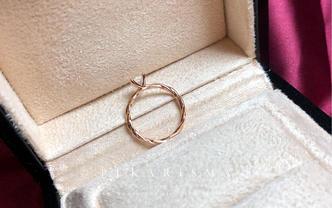 种草网红人气公主方显钻石戒指「给予你一生的宠爱」