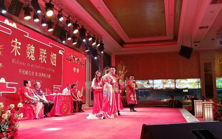 中式婚礼资深主持+策划+督导+音乐执行+喜娘团