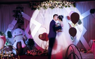 【禾朵私人婚礼定制】--泊宁酒店森系小清新婚礼