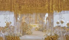《羲•华》 奢华金色婚礼