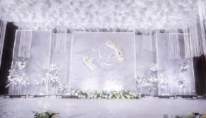 【唯喏婚礼】--灰白大理石 婚纱免费 一价全包