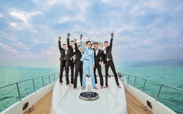 大梅沙湾游艇会拍摄三机摄像+双机摄影