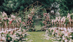 【大眼婚礼】 小预算#精致户外草坪#超人气