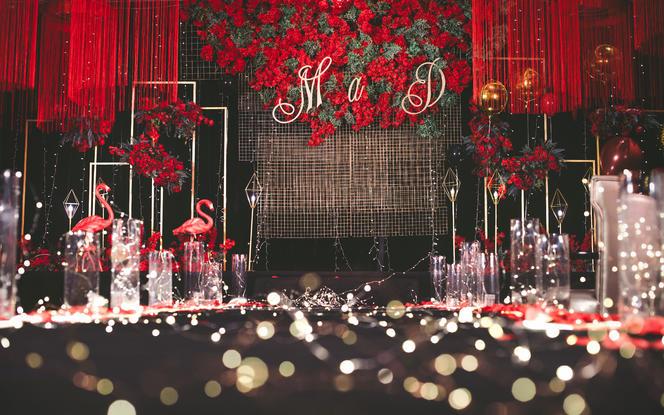 【今与宴会设计】红色大气婚礼超值服务