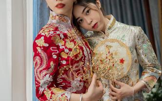 #超值租賃#新娘三件套+高級化妝師跟妝