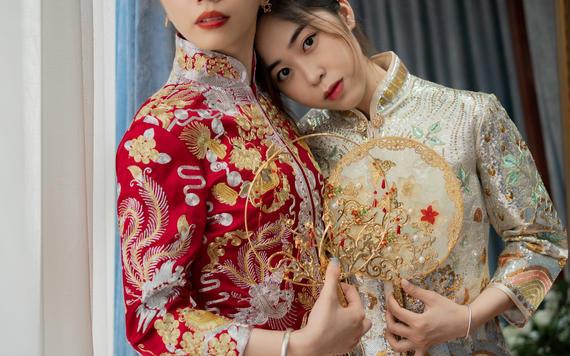 #超值租赁#新娘三件套+高级化妆师跟妆
