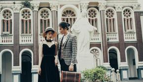 【先拍照后付款】新婚纱免费拍+60张精修+全包价