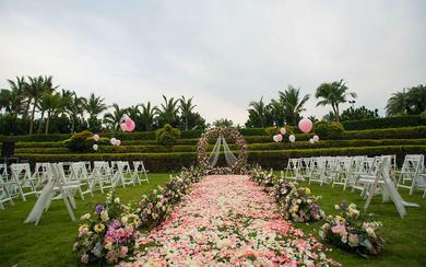 三亚微奢婚礼 | 粉色情缘