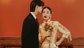 【全网热销】婚纱照丨价值5999元ins风婚纱照