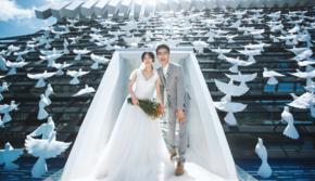 爱旅巴厘岛婚礼-一价全含-悦榕庄白鸽教堂明星婚礼