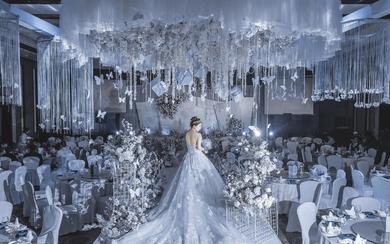 夜华胧月——小清新简约风婚礼,潮婚节优选婚策