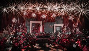 造梦者-「等了很久的太阳」红黑主题婚礼