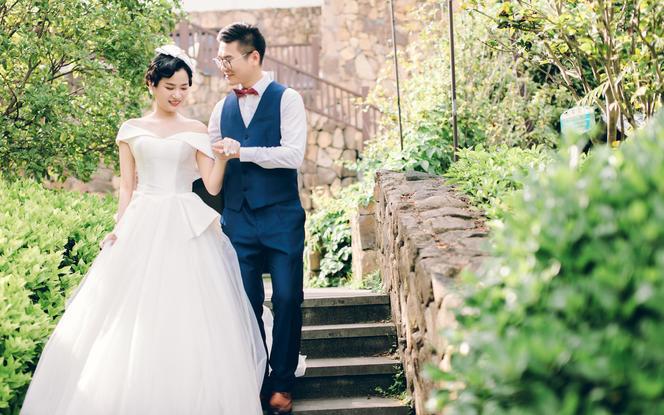 总监摄影+摄像双机+赠航拍 婚礼跟拍现代·简约