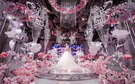 【巴黎情缘婚礼企划】青春不褪色 粉色浪漫主题婚礼