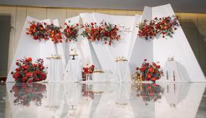 ING WEDDING || 红白极简