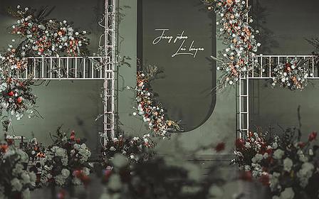 【安东妮】那些你很冒险的梦极简风婚礼