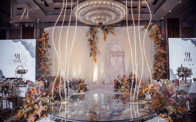 INS北欧轻奢现代风格婚礼策划布置