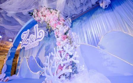 【千色阁】-海洋主题一站式定制婚礼套餐