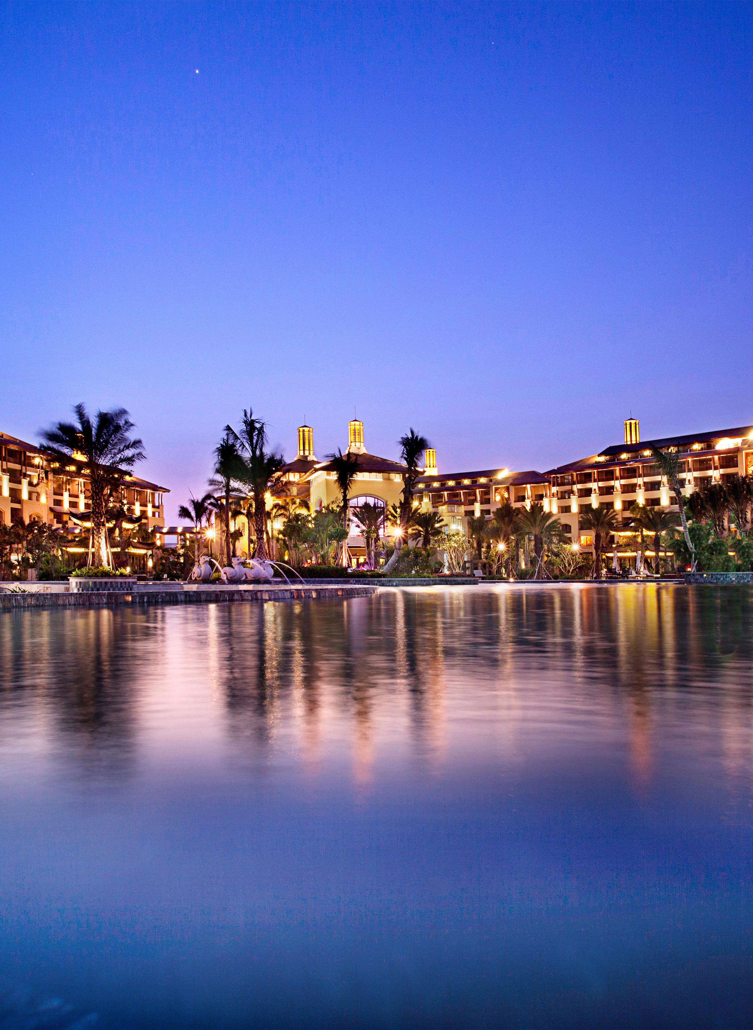 三亚海棠湾开维费尔蒙酒店