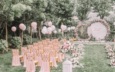 室外婚礼每个女孩子的向往婚礼