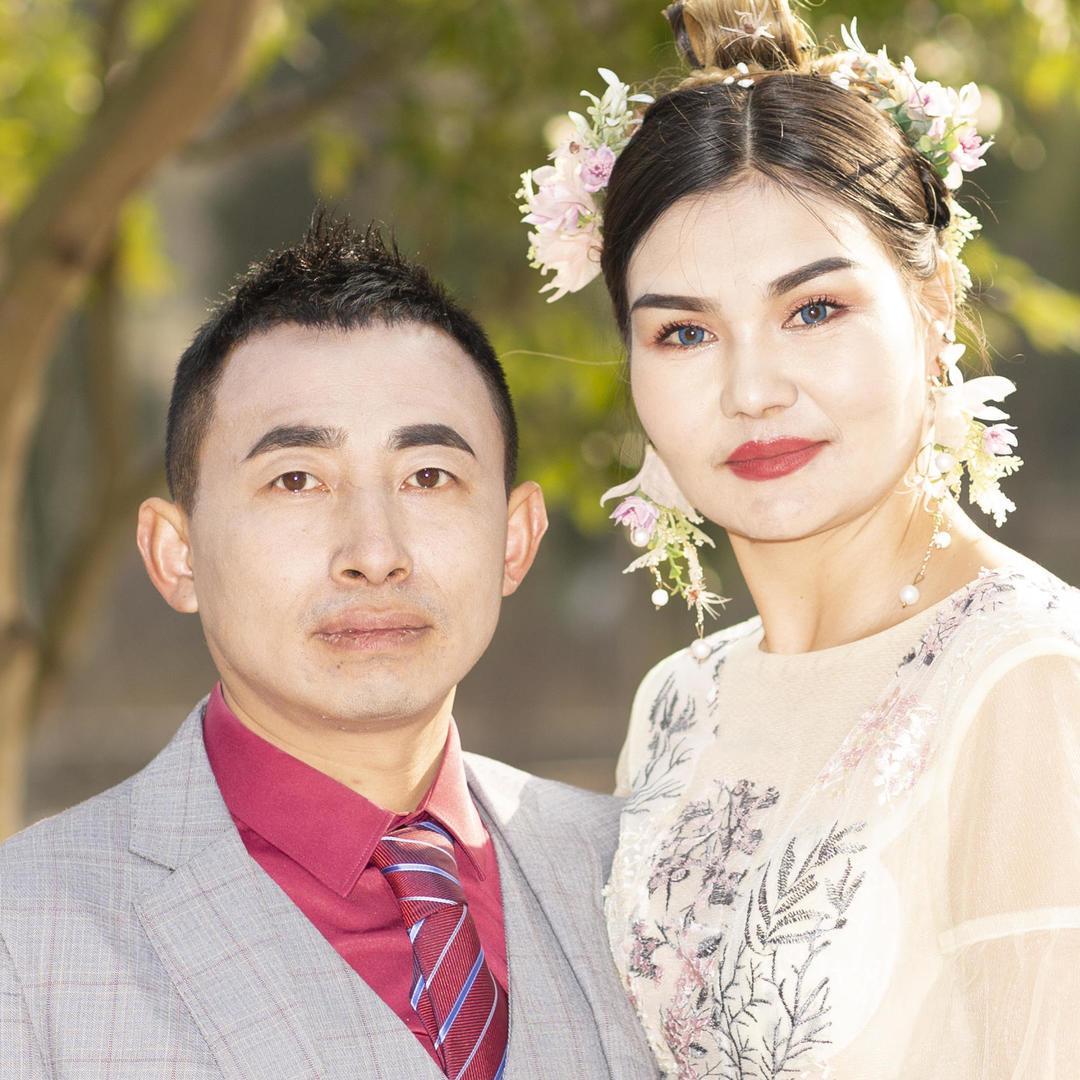 唯美性价比园林风大光圈婚纱摄影