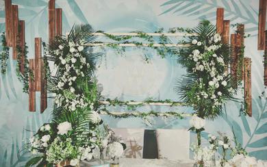 反射光婚礼---绿色小清新婚礼