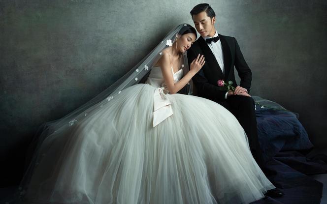 私人订制套系/高级感婚纱照