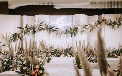 森系白绿婚礼——五厘米婚礼