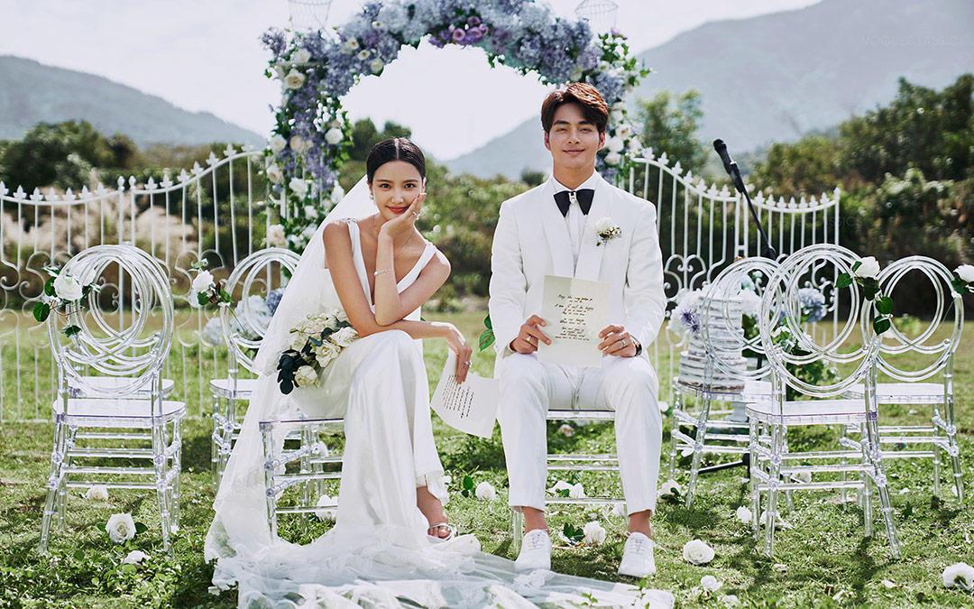 【热销】10服10造+双外景+明星同款婚纱礼服